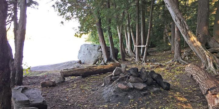 Pen Lake – Campsite #10