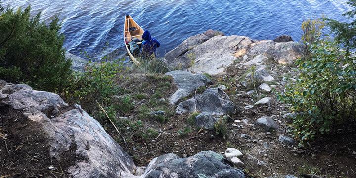 Pen Lake – Campsite #12