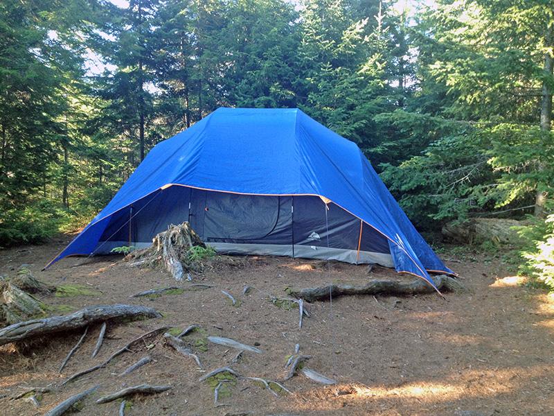 Linda Lake Campsite #1 tent spot