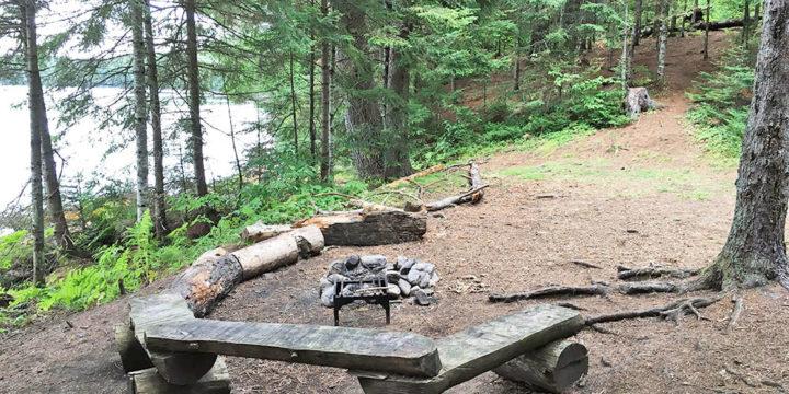 White Trout Lake – Campsite #10