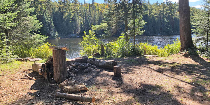Baby Joe Lake – Campsite #1