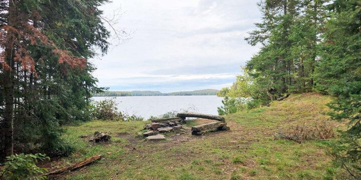 Big Trout Lake – Campsite #3