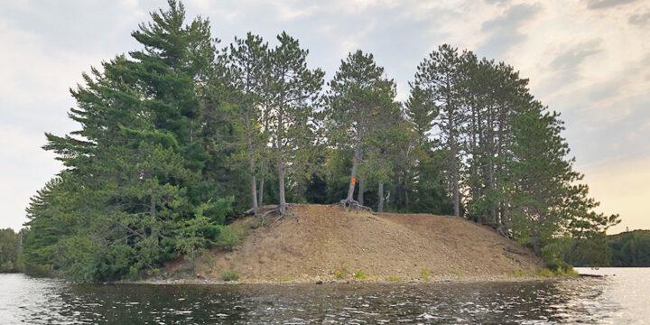 Big Trout Lake – Campsite #4