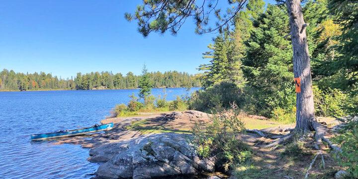 Joe Lake East Arm – Campsite #8