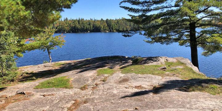 Joe Lake Western Narrows – Campsite #2