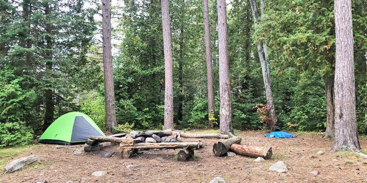 Little Otterslide Lake – Campsite #4 2020