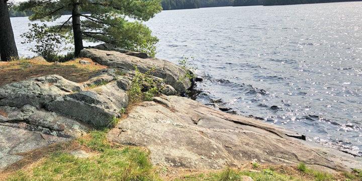Otterslide Lake – Campsite #3