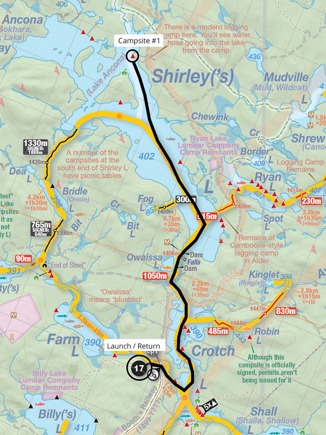 Trip Report and Details for 3 Days Solo on Shirley Lake in Algonquin Park August 2021