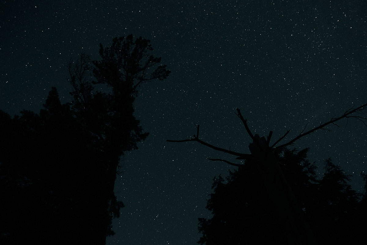 Night sky astrophotography Queer Lake July 2021 - 10