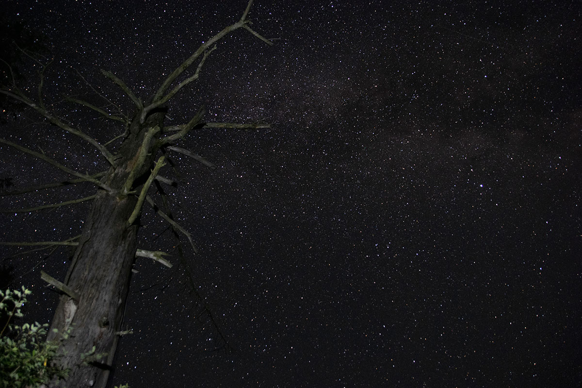Night sky astrophotography Queer Lake July 2021 - 4