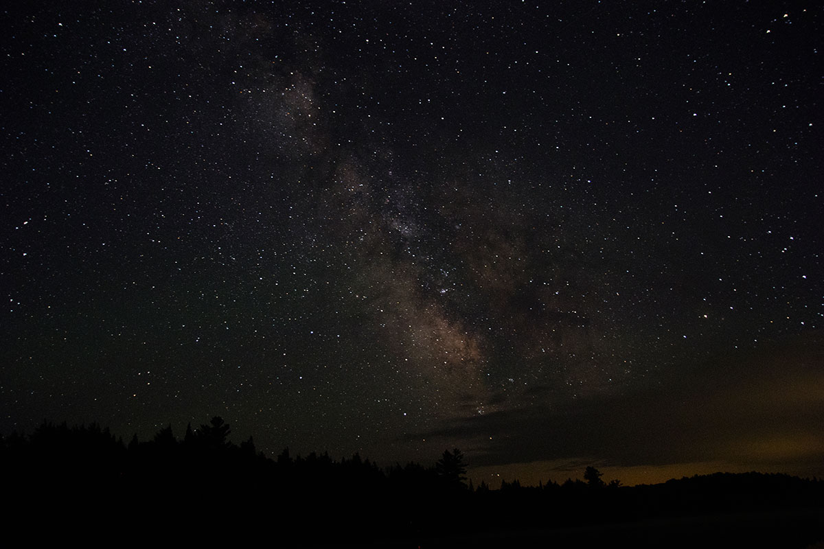 Night sky astrophotography Queer Lake July 2021 - 5