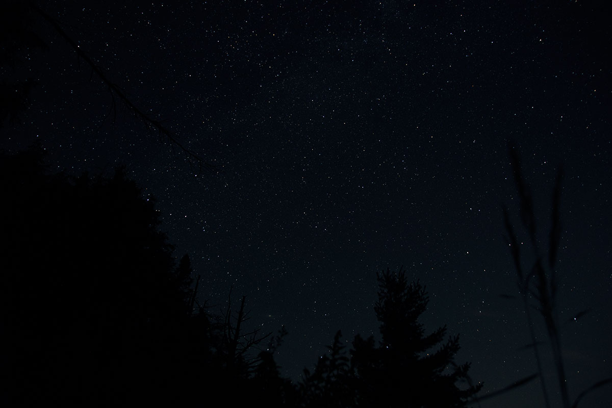 Night sky astrophotography Queer Lake July 2021 - 9